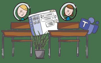 (Inter)ACTIE tijdens online onderwijsmomenten